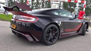 Aston Martin Vantage GT12 - BRUTAL START UP + REVS!