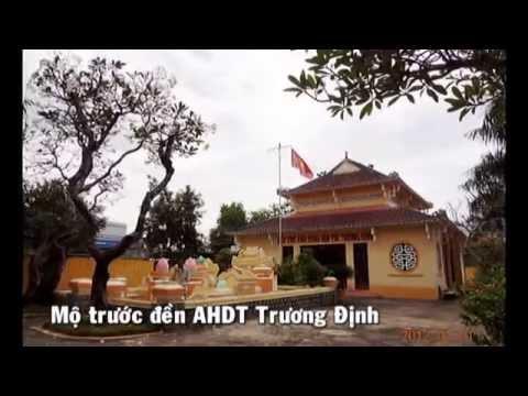 Đền và mộ AHDT Trương Định tại QuảngNgãi & TiềnGiang