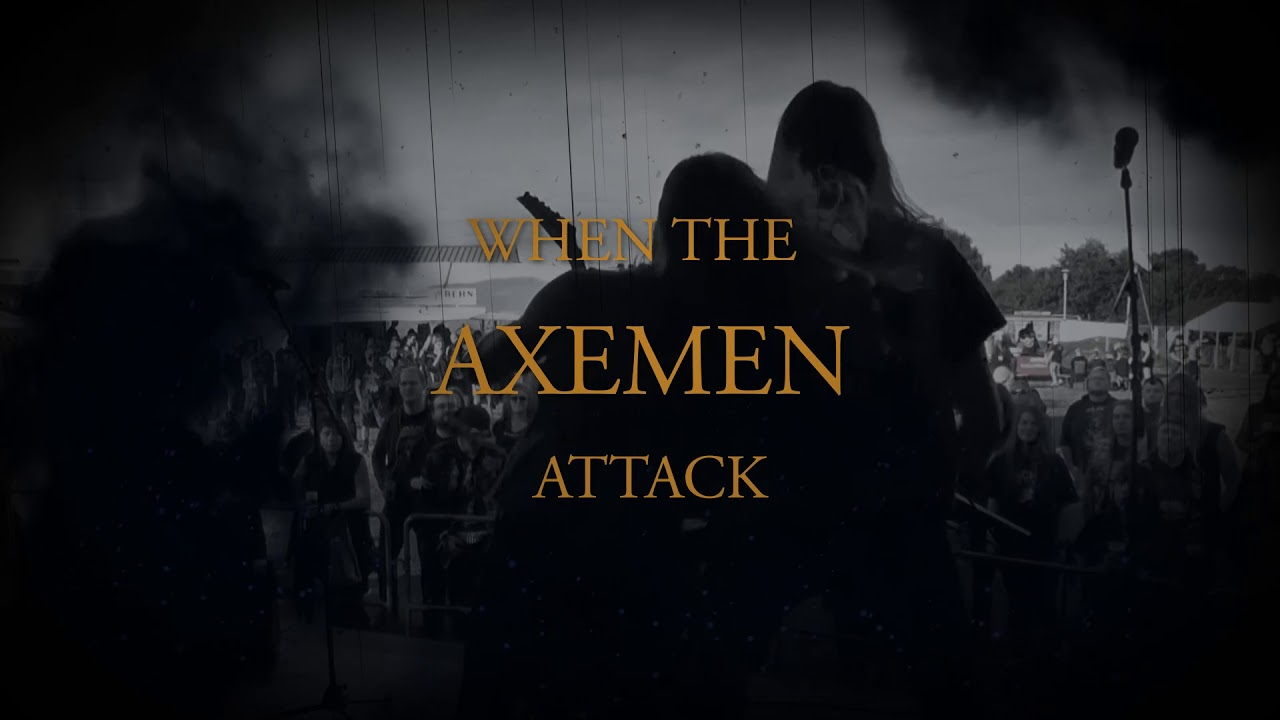 Booze Control – ATTACK OF THE AXEMEN (Lyric Video)