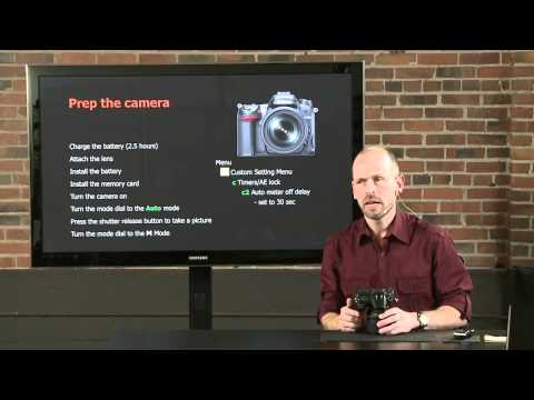 Nikon D7000 Tutorial - A Fast Start Guide to Your DSLR