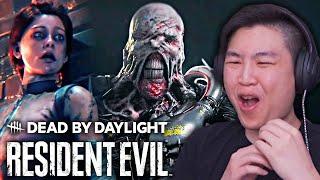 Dead by Daylight - трейлер Resident Evil Reveal !! [РЕАКЦИЯ]