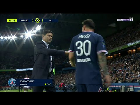 Pochettino subs Lio Messi out of the game