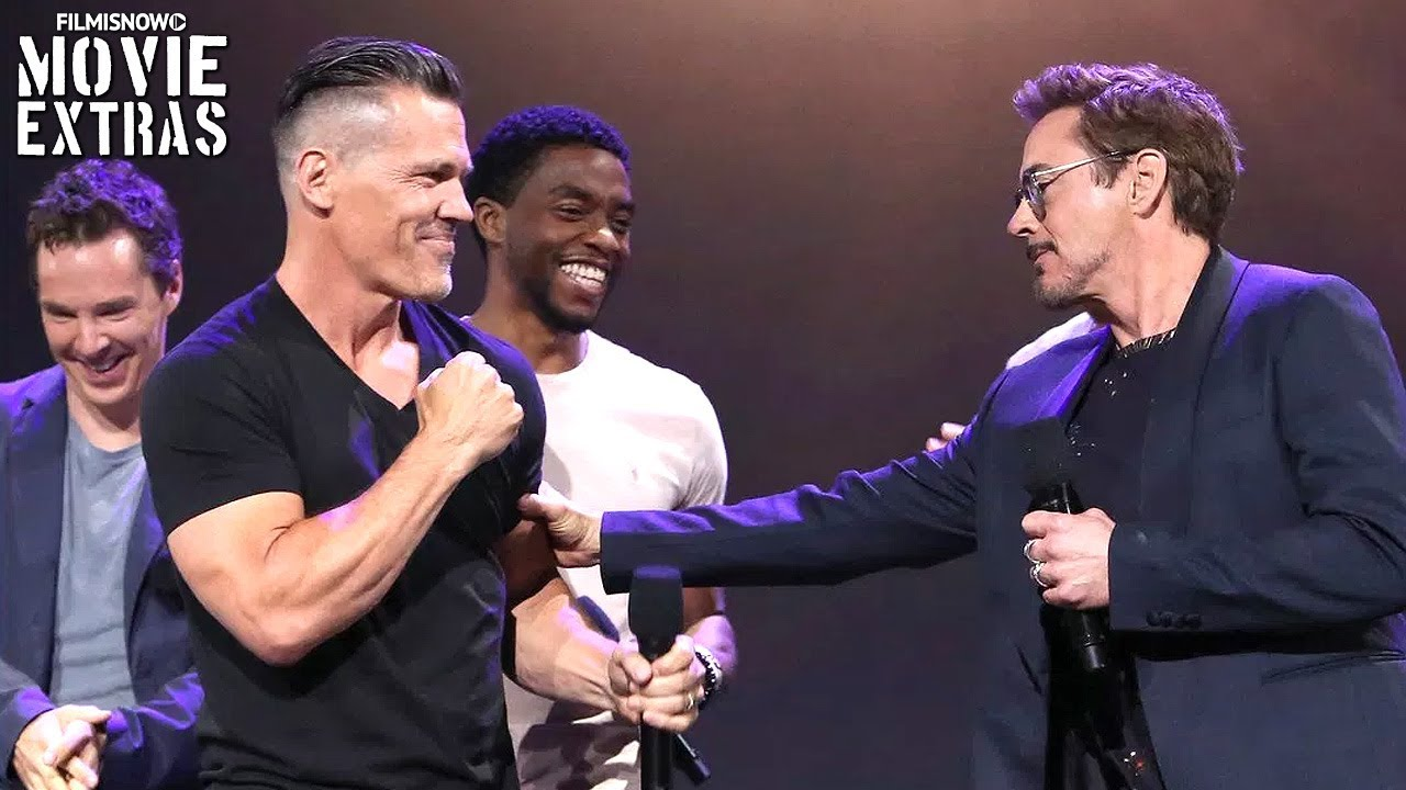 Download Avengers: Infinity War - D23 Expo Panel Presentation with Cast & Director Interviews
