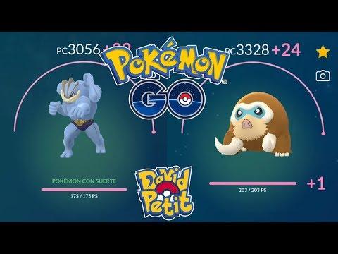 SUBIENDO AL MÁXIMO A MACHAMP 100% SUERTE MÁS MAMOSWINE 100%! [Pokémon GO-davidpetit] thumbnail