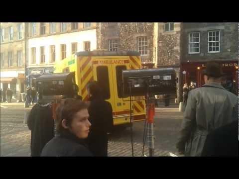 "Irvine Welsh film FILTH ""Behind the scenes in Edinburgh"""