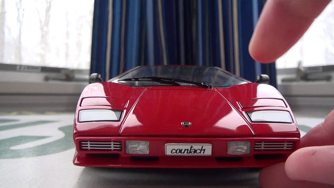 1 18 Autoart Lamborghini Countach 5000s Review Youtube