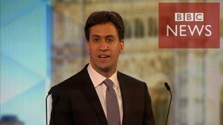 【BBC】 英労働党のミリバンド党首、キャメロン首相に挑戦