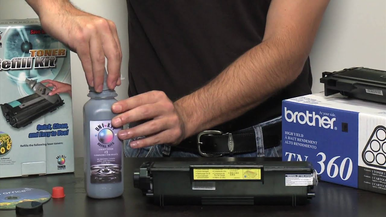 Toner Refill Kit For Brother How To Cartridges Using Refills