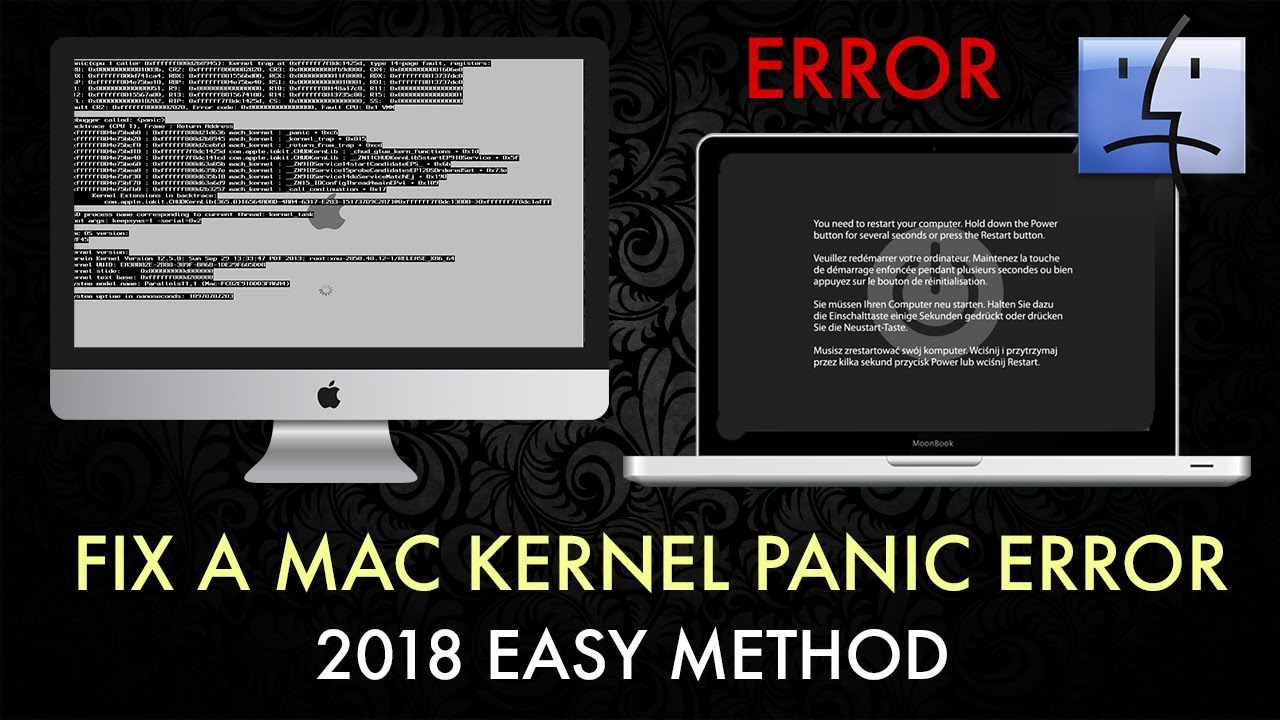 Mac: How To Fix A Kernel Panic / OS Upgrade Startup Boot Error (2018)