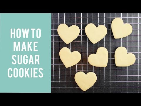 Easy Sugar Cookies That Don't Spread & Recipe  –  Part 1 of 3