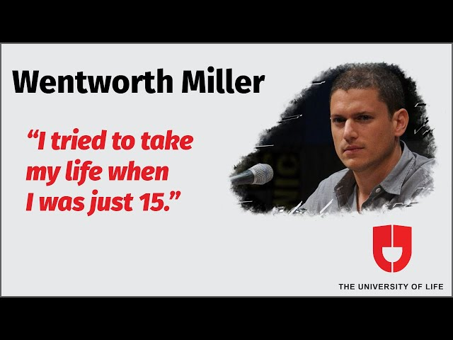 Wentworth Miller Inspiring Speech On Human Rights(Highlights)—the University Of Life