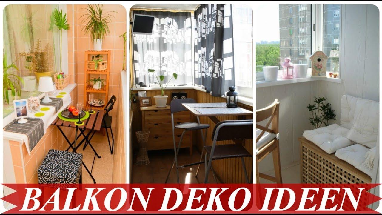 deko ideen für kleine balkone  youtube