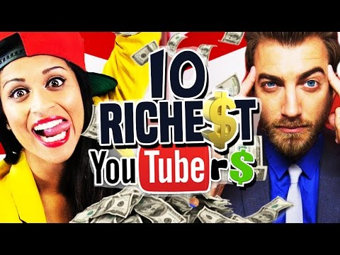 10 Highest-Paid YouTubers