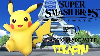 Gambar cover Super Smash Bros. Ultimate Part 10 Classic Mode with Pikachu!