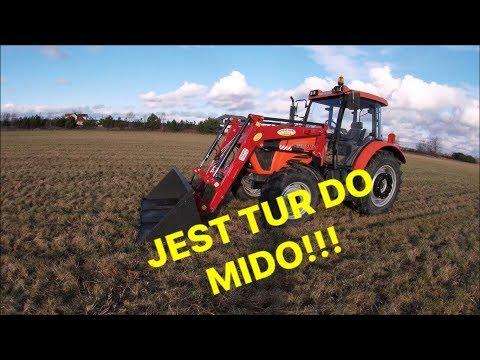 NOWY NABYTEK 2019! Ursus 6824 Mido+ TUR 3 sekcyjny HYDRO-SPAW prezentacja i opis