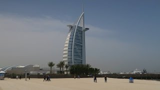 Dubai - Burj Al Arab, Kite Beach, Hotel Atlantis The Palm, Ski Dubai