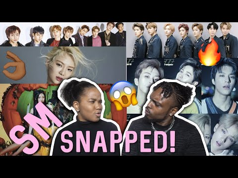 SM SPECIAL (EXO, RED VELVET, HYOYEON, NCT DREAM/U) REACTION [4K]