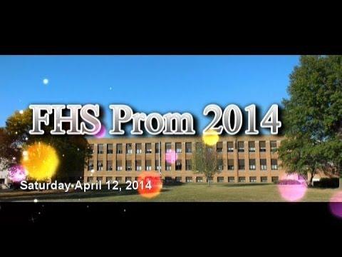 Fairfield High School Prom Parade 2014