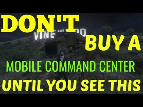 GTA V MOBILE COMMAND CENTER UPDATE NEED TO KNOW!