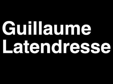 Guillaume latendresse wife sexual dysfunction