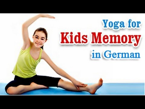 Brain Exercise To Improve Kids Memory | Yoga For German