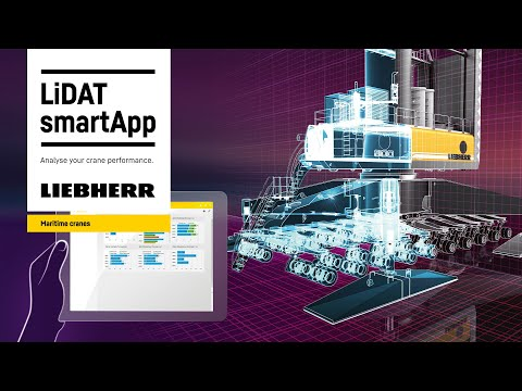 Liebherr - LiDAT smartApp - Analyse your crane performance