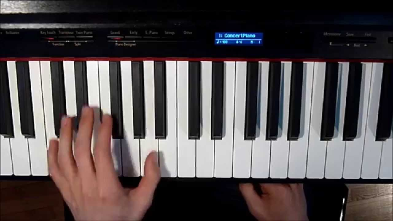 Lecon de piano - 4 9