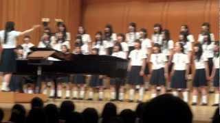 【合唱】 IN TERRA PAX -地に平和を- 【帝塚山高校】