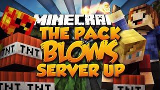 Minecraft BREAKING THE SERVER! (Kungfu Panda Maze Parkour!) w/ Preston, Lachlan & Woofless