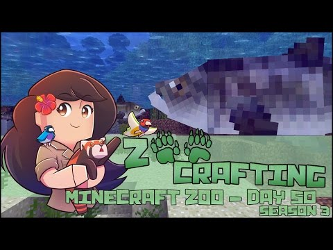 A Lake Full of Big Fat Fish!! 🐘 Zoo Crafting: Episode #50 🐘