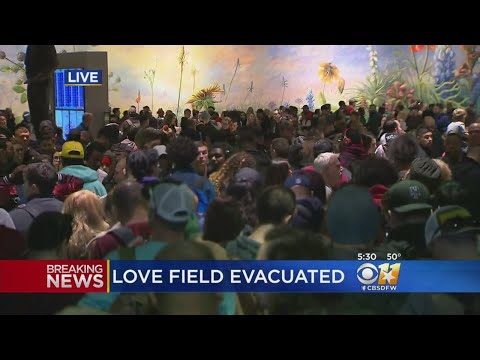 Fire Causes Evacuation At Dallas Love Field Airport