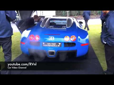 bugatti veyron w16 running idle exhaust sound youtube. Black Bedroom Furniture Sets. Home Design Ideas