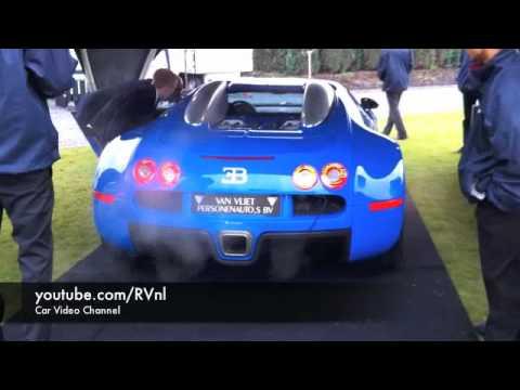 bugatti veyron w16 running idle exhaust sound youtube. Black Bedroom Furniture Sets. Home Design Ideas