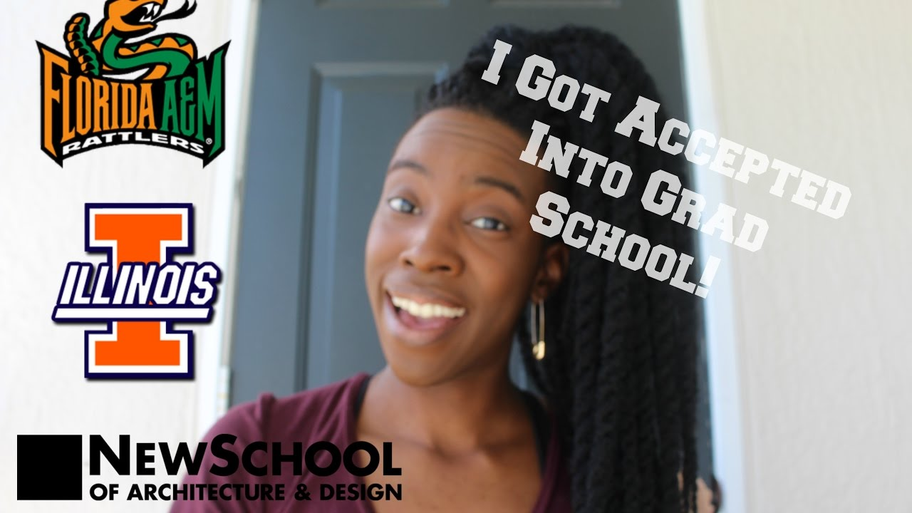 how to get into architecture grad school