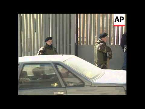 ITALY: REPUTED MAFIA BOSS GOES ON TRIAL