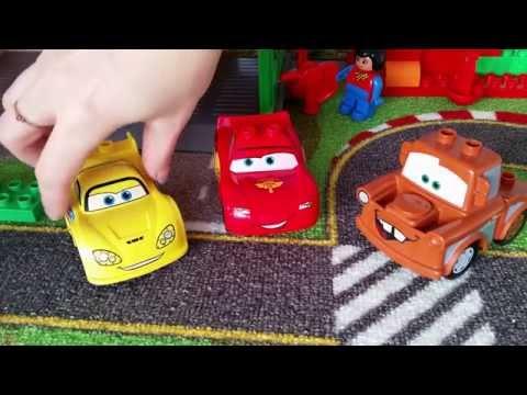 LASTENOHJELMIA SUOMEKSI - LEGO DUPLO autot osa 2