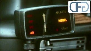 Die ersten Navigations- und Abstandswarngeräte in Autos (1975)