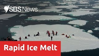 Baixar Scientist find record loss of sea ice in the arctic circle