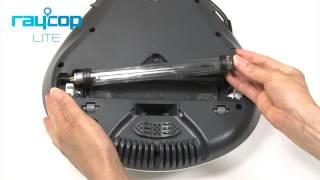 레이캅 LITE 제품 관리 방법 - UV램프 교체