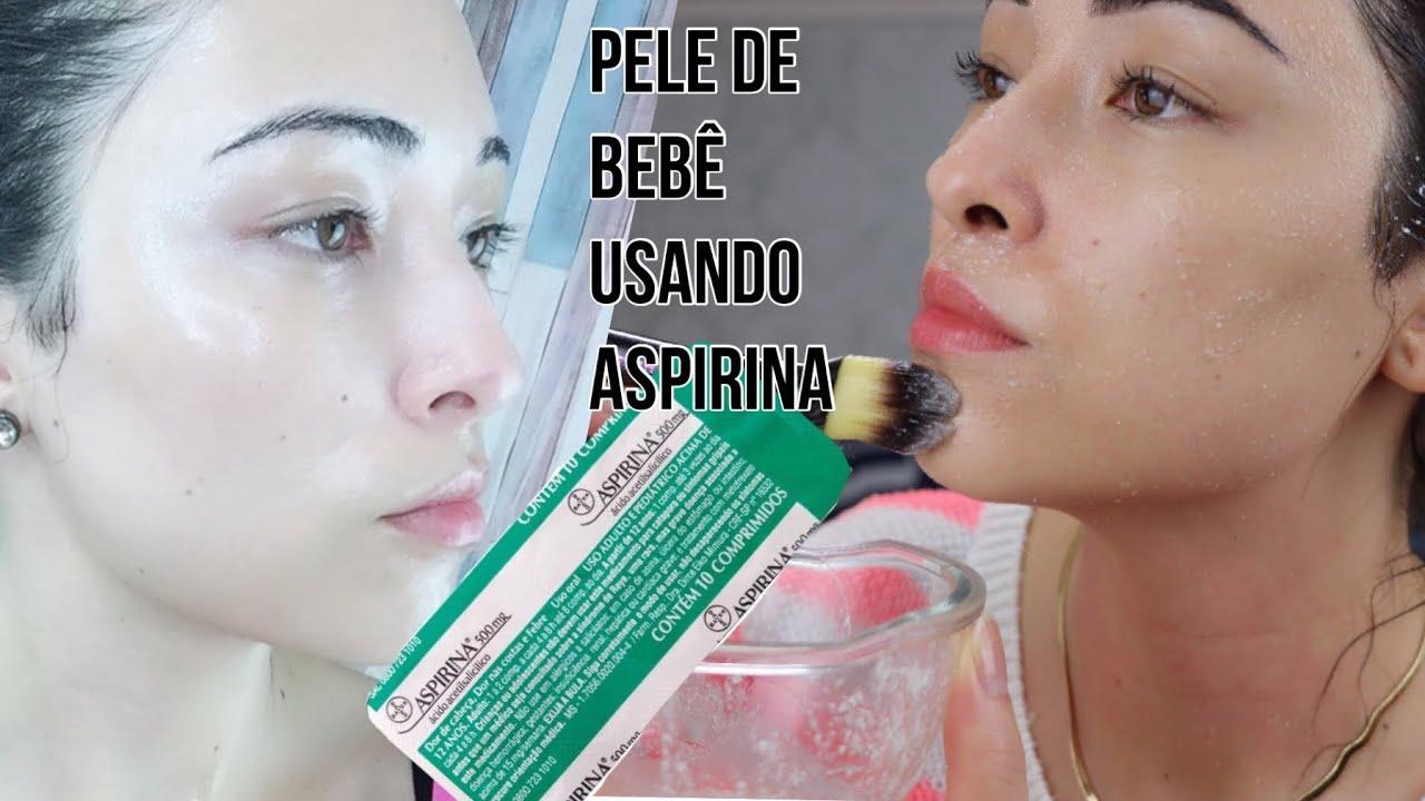 Pele De Bebe Em 2 Dias Use Aspirina Para Remover Manchas Rugas Da