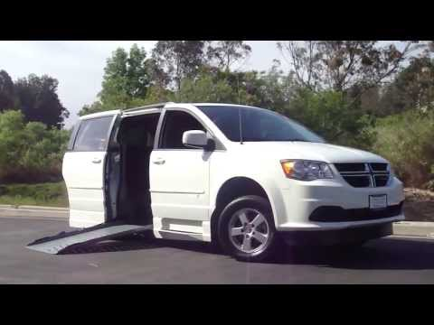 Dodge Grand Caravan Handicap Wheelchair Ramp Van Orange County