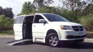 Dodge Grand Caravan Handicap Wheelchair Ramp Van Orange County