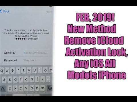 FEB, 2019! New Method  Remove iCloud Activation Lock ||  Any iOS All Models iPhone Done 100%✔️