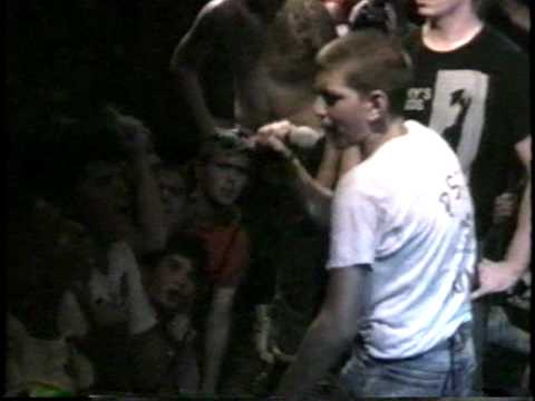 Agnostic Front introduce Madball at CBGB, 1988