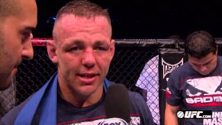 UFC on FX 6: Ross Pearson Octagon Interview