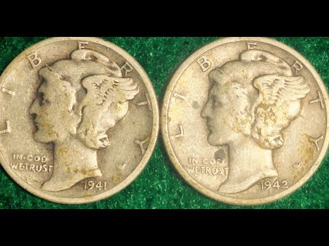 1942/1 Mercury Dime: Error Coin To Look For