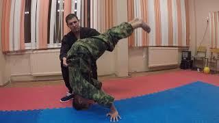 Рукопашный бой.Урок 4. Методика обучения стойки на голове