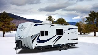 Quick Tour of the New Arctic Fox 24J Travel Trailer