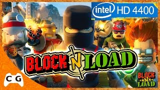 Block N Load Gameplay Intel HD Graphics Jogo Free to Play FPS Steam #311