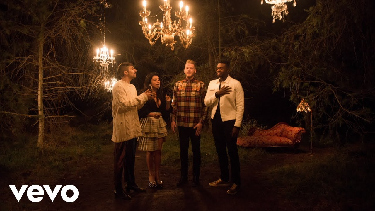 Pentatonix Christmas Youtube.Official Video Away In A Manger Pentatonix